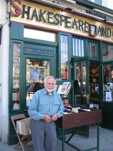 Paris is just about Joseph's most favorite place in the world (aside from North Carolina's Outer Banks) and one of his most favorite places in Paris is the world famous Shakespeare and Company Bookstore.
